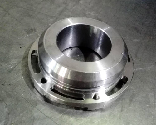 Machining of precision mechanical parts for stainless steel flange machining