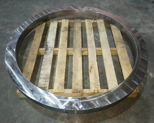 1.5 meter large diameter non-standard cast iron flange ordinary lathe processing