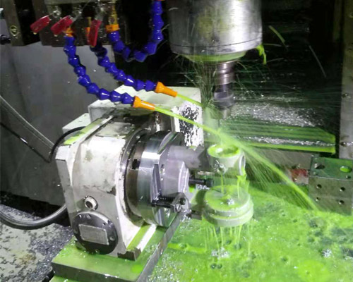 Four-axis Machining of Precision Machine Parts