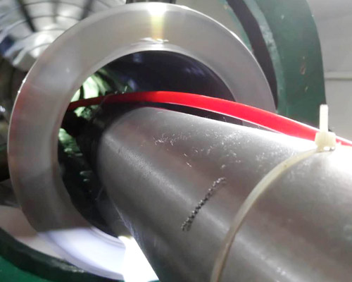 1 m long shaft drum turning processing